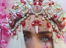Υπέροχες κορώνες με κοχύλια, κρύσταλλα, αλυσίδες και λουλούδια μάς κάνουν... πριγκίπισσες! (ΦΩΤΟ) - Κυρίως Φωτογραφία - Gallery - Video