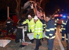 Τραγωδία στην Τουρκία: 11 νεκροί και 46 τραυματίες σε δυστύχημα με λεωφορείο (ΦΩΤΟ)   - Κυρίως Φωτογραφία - Gallery - Video