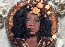 Οι πιο όμορφες πίτες που έχετε δει: Καλλιτέχνιδα αποφάσισε να πάρει τους αγαπημένους της celebrities & να τούς κάνει…πορτραίτα!  - Κυρίως Φωτογραφία - Gallery - Video