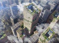 Σχέδια για ανέγερση ουρανοξύστη 350 μέτρων από ξύλο στο Τόκιο - Θα είναι ο πιο ψηλός & θα έχει 70 ορόφους  - Κυρίως Φωτογραφία - Gallery - Video