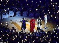 Φαντασμαγορικές εικόνες από την τελετή έναρξης των Χειμερινών Ολυμπιακών Αγώνων - Η νύχτα έγινε μέρα στην Πιονγιάνγκ (ΦΩΤΟ) - Κυρίως Φωτογραφία - Gallery - Video