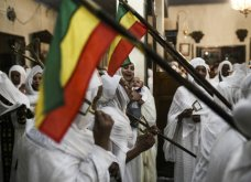 18 εκπληκτικές εικόνες με τους Ορθόδοξους Αιθίοπες της Αθήνας να ψέλνουν στην Ανάσταση (ΦΩΤΟ) - Κυρίως Φωτογραφία - Gallery - Video