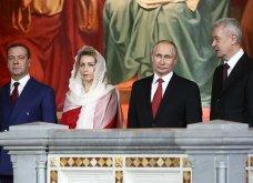 """Εντυπωσιακές φωτό & βίντεο από την """"μοναχική"""" Ανάσταση του Πούτιν με τον Πατριάρχη Κύριλλο - Κυρίως Φωτογραφία - Gallery - Video"""