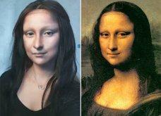 Μπλόγκερ ομορφιάς ενθουσίασε το διαδίκτυο μεταμορφώνοντας τον εαυτό της σε Μόνα Λίζα (ΒΙΝΤΕΟ)  - Κυρίως Φωτογραφία - Gallery - Video