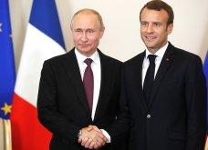 Τι συζήτησαν Βλαντιμίρ Πούτιν κι Εμανουέλ Μακρόν στην Αγία Πετρούπολη - Η Μπριζίτ Τρονιέ «έκλεψε» τις εντυπώσεις (ΦΩΤΟ & VIDEO) - Κυρίως Φωτογραφία - Gallery - Video