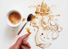 Ο καφές και το τσάι μετατρέπονται σε όμορφη τέχνη από την Giulia Bernardelli (ΦΩΤΟ) - Κυρίως Φωτογραφία - Gallery - Video