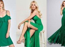 Εκπληκτικές ιδέες για σμαραγδί φόρεμα - Να πως μπορείτε να το συνδυάσετε - Κυρίως Φωτογραφία - Gallery - Video 3