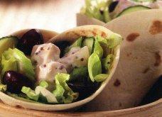 Υγιεινά και χορταστικά wraps με φιλέτο στήθος κοτόπουλου - Κυρίως Φωτογραφία - Gallery - Video