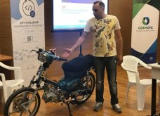 Made in Greece νεαρός Ηρακλειώτης: Έφτιαξε μηχανάκι που κινείται με τσικουδιά (ΦΩΤΟ)  - Κυρίως Φωτογραφία - Gallery - Video