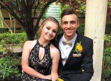 Ζευγάρι έζησε μοναδικές στιγμές στον σχολικό χορό: Έβγαλε τις ψεύτικες βλεφαρίδες μπροστά στο αγόρι της & αυτός έγινε viral (ΒΙΝΤΕΟ)  - Κυρίως Φωτογραφία - Gallery - Video