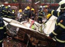 Τραγωδία στη Βομβάη: Αεροπλάνο έπεσε πάνω σε σπίτια σε πυκνοκατοικημένη γειτονιά - 5 νεκροί (Φωτό & Βίντεο) - Κυρίως Φωτογραφία - Gallery - Video