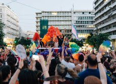 Athens Pride 2018: Η πολύχρωμη γιορτή της ΛΟΑΤΚΙ κοινότητας (ΦΩΤΟ) - Κυρίως Φωτογραφία - Gallery - Video 16