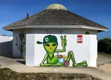 Ένας υπέροχος street artist μεταμορφώνει μουντά σημεία της πόλης σε πραγματικά έργα τέχνης όλο χρώμα & ζωή (ΦΩΤΟ) - Κυρίως Φωτογραφία - Gallery - Video