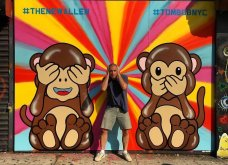 Ένας υπέροχος street artist μεταμορφώνει μουντά σημεία της πόλης σε πραγματικά έργα τέχνης όλο χρώμα & ζωή (ΦΩΤΟ) - Κυρίως Φωτογραφία - Gallery - Video 3
