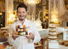 Συναρπαστική εικόνα τούρτας- αχινού! Ο Cedric Grolet, ο master chef της Γαλλικής ζαχαροπλαστικής «ζωγραφίζει» - Κυρίως Φωτογραφία - Gallery - Video