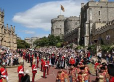 Με μεγάλη επισημότητα & λαμπερές παρουσίες η βασίλισσα Ελισάβετ γιόρτασε τα 700 χρόνια του εμβληματικού Τάγματος των Ιπποτών Garter (ΦΩΤΟ)  - Κυρίως Φωτογραφία - Gallery - Video 4