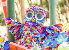 Έφτιαξαν ένα ολόκληρο δάσος σε όλα τα χρώματα της γης με 3 τόνους πλαστικών (ΦΩΤΟ)  - Κυρίως Φωτογραφία - Gallery - Video