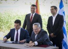 H υπογραφή της ιστορικής συμφωνίας Ελλάδας - ΠΓΔΜ στις Πρέσπες μέσα από τον φωτογραφικό φακό - Ο Ζάεφ έδωσε τη γραβάτα του στον Τσίπρα (ΦΩΤΟ & VIDEO) - Κυρίως Φωτογραφία - Gallery - Video 11