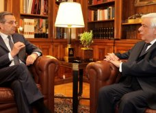 Σαμαράς: Αχρείαστος, ταπεινωτικός συμβιβασμός η συμφωνία με τα Σκόπια- Aνιστόρητος ο Παυλόπουλος - Κυρίως Φωτογραφία - Gallery - Video