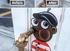 Ένας υπέροχος street artist μεταμορφώνει μουντά σημεία της πόλης σε πραγματικά έργα τέχνης όλο χρώμα & ζωή (ΦΩΤΟ) - Κυρίως Φωτογραφία - Gallery - Video 20