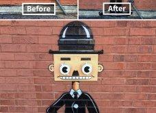 Ένας υπέροχος street artist μεταμορφώνει μουντά σημεία της πόλης σε πραγματικά έργα τέχνης όλο χρώμα & ζωή (ΦΩΤΟ) - Κυρίως Φωτογραφία - Gallery - Video 25