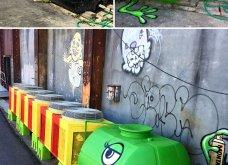 Ένας υπέροχος street artist μεταμορφώνει μουντά σημεία της πόλης σε πραγματικά έργα τέχνης όλο χρώμα & ζωή (ΦΩΤΟ) - Κυρίως Φωτογραφία - Gallery - Video 30