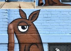 Ένας υπέροχος street artist μεταμορφώνει μουντά σημεία της πόλης σε πραγματικά έργα τέχνης όλο χρώμα & ζωή (ΦΩΤΟ) - Κυρίως Φωτογραφία - Gallery - Video 31