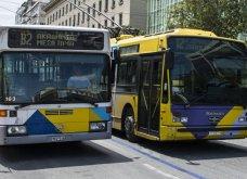 Ταλαιπωρία για τους επιβάτες: Στάση εργασίας τρόλεϊ και λεωφορείων την Πέμπτη - Κυρίως Φωτογραφία - Gallery - Video