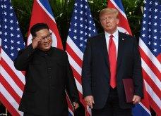"""65 φωτογραφίες- Καρέ καρέ η ιστορική συνάντηση Τραμπ - Κιμ Γιονγκ Ουν: Οι δύο πιο αμφιλεγόμενοι ηγέτες του κόσμου """"έσπασαν τον πάγο"""" - Κυρίως Φωτογραφία - Gallery - Video"""