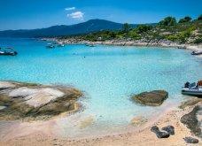 Διάπορος Χαλκιδικής: Το άγνωστο μικρό εξωτικό νησάκι της Ελλάδας - Μαγικό βίντεο στα καταγάλανα νερά - Κυρίως Φωτογραφία - Gallery - Video