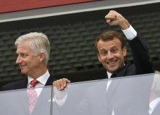 Ο πρόεδρος της Γαλλίας είναι απόψε ένας ευτυχισμένος άνθρωπος δείτε φωτο - Κυρίως Φωτογραφία - Gallery - Video