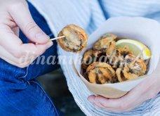 Μύδια τηγανητά σε αρωματικό κουρκούτι από τη Ντίνα Νικολάου - Κυρίως Φωτογραφία - Gallery - Video