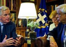 Μ. Μπαρνιέ: «Είμαστε δίπλα στον ελληνικό λαό» (Βίντεο) - Κυρίως Φωτογραφία - Gallery - Video