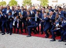 Μουντιάλ 2018: Έτσι υποδέχθηκαν στο Παρίσι τους Πρωταθλητές Κόσμου - Τα πανηγύρια με τον Εμανουέλ Μακρόν (Φωτό & Βίντεο) - Κυρίως Φωτογραφία - Gallery - Video