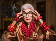 Η Ίρις Άπφελ σε έναν μήνα γίνεται 97! Παραμένει ακαταμάχητη fashion icon, ακόμη και στο αναπηρικό καροτσάκι (Φωτό) - Κυρίως Φωτογραφία - Gallery - Video