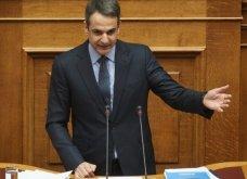 Κυριάκος Μητσοτάκης: «Είστε ψεύτης, συκοφάντης και πρωθυπουργός υπό προθεσμία, κ. Τσίπρα» - Κυρίως Φωτογραφία - Gallery - Video