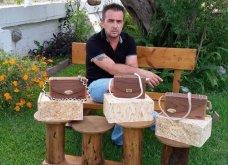 Αποκλ. – Made in Greece η MC+ & ο Ανδρέας Βαλλιανάτος: Ο Λευκαδίτης ξυλουργός & οι ξύλινες τσάντες – έργα τέχνης – Tον λάτρεψαν οι γυναίκες σε 14 χώρες - Κυρίως Φωτογραφία - Gallery - Video