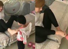 Βίντεο: Η μαμά δεν έχει χέρια όμως φροντίζει το παιδί της σαν να είναι αρτιμελής - Δείτε πώς - Κυρίως Φωτογραφία - Gallery - Video
