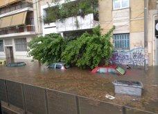 Συνταρακτικές εικόνες από τον Περισσό: Βούλιαξαν αυτοκίνητα - πλημμύρισαν σπίτια (βιντεο) - Κυρίως Φωτογραφία - Gallery - Video