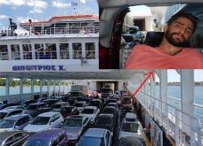 Ο 28χρονος που «παγιδεύτηκε» με το αναπηρικό αμαξίδιο στο γκαράζ πλοίου ξεσπά: Γολγοθάς δεν θα το επιχειρήσω ξανά - Κυρίως Φωτογραφία - Gallery - Video