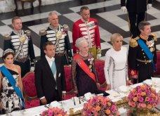 Το πιο επίσημο dîner de gala των Μακρόν: Με εκπληκτική τουαλέτα Louis Vuitton η Μπριζίτ - Η υποδοχή των Δανών βασιλιάδων (Φωτό) - Κυρίως Φωτογραφία - Gallery - Video