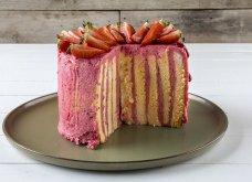 Μοναδική τούρτα raspberries από τον Άκη Πετρετζίκη - Κυρίως Φωτογραφία - Gallery - Video