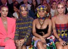 Η πρώτη σειρά στην επίδειξη μόδας της Versace έγινε viral: Μινάζ, νούμερο-  Ρίτα Όρα - Κιάρα Φεράνι (φώτο) - Κυρίως Φωτογραφία - Gallery - Video