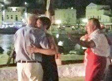 Γιώργος Παπανδρέου ο bon vivant: Χορεύει βαλς με την Ολλανδή σύντροφό του στη Σύμη (ΦΩΤΟ) - Κυρίως Φωτογραφία - Gallery - Video