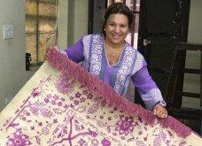 Μοβ οπτασία η Δέσποινα Μοιραράκη διαλέγει χαλιά στην Ινδία, όπως κάθε χρόνο, με τον δικό της τρόπο (Φωτό & Βίντεο) - Κυρίως Φωτογραφία - Gallery - Video