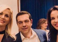 Με δύο ωραίες κυρίες ο Αλέξης Τσίπρας στη Νέα Υόρκη: Έμη Λιβανίου & Κατερίνα Παναγοπούλου - All Smiles (φώτο) - Κυρίως Φωτογραφία - Gallery - Video