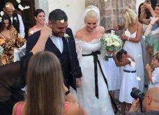 """""""Και  έσονται οι δυο εις σάρκαν μια"""":  Ελισάβετ Μουτάφη - Μάνος Νιφλής : Ο ονειρεμένος γάμος στη Σαντορίνη (φώτο -βιντεο) - Κυρίως Φωτογραφία - Gallery - Video"""