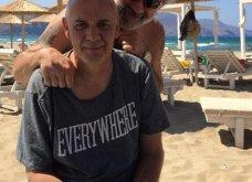 Ο Γιώργος Κιμούλης αποκλεισμένος στη Νάξο ανεβάζει μια συγκλονιστική φωτογραφία - Κυρίως Φωτογραφία - Gallery - Video