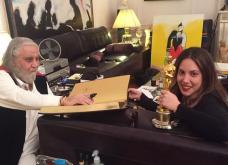 Πόσο πιό Made in Greece εικόνα; Η Μαίρη Κατράντζου ευχαριστεί δημόσια τον Βαγγέλη Παπαθανασίου - Η μουσική του στα 10 χρόνια της στην μόδα (ΦΩΤΟ - ΒΙΝΤΕΟ) - Κυρίως Φωτογραφία - Gallery - Video