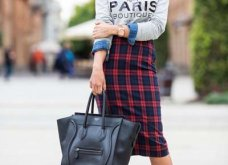 40 υπέροχοι συνδυασμοί με καρό ρούχα για κάθε περίσταση που θα σας κάνουν πιο στιλάτες από ποτέ! (ΦΩΤΟ)   - Κυρίως Φωτογραφία - Gallery - Video 15